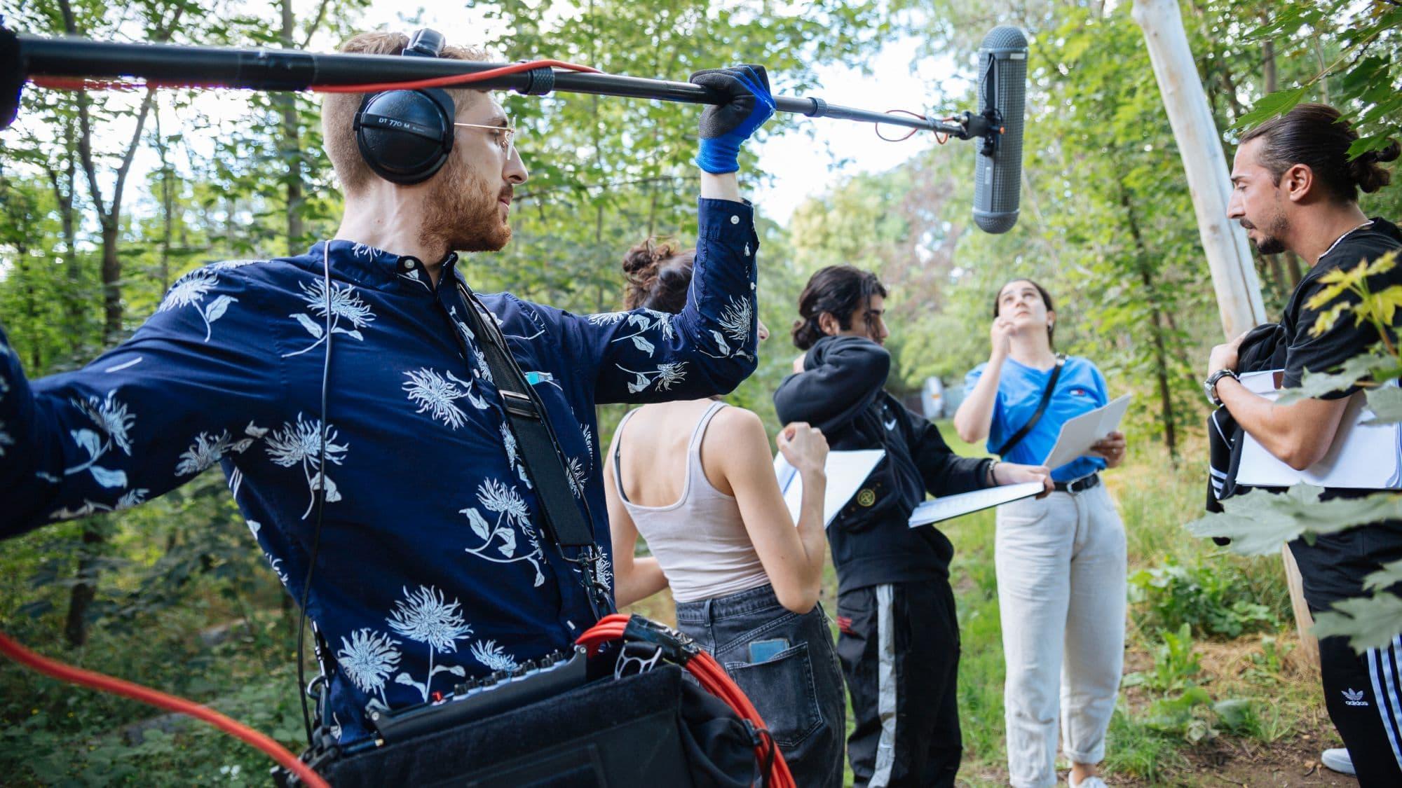 Titelbild mit Sirius Kestel zur Filmton.de-News 'Neue Hörspielproduktion'